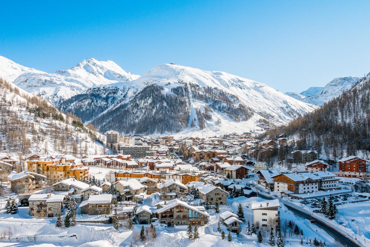 Stationner à Val d'Isère