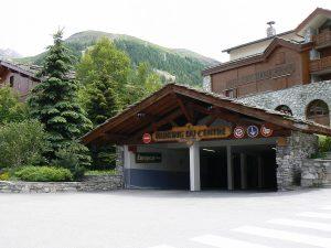 Parkings à Val d'Isère