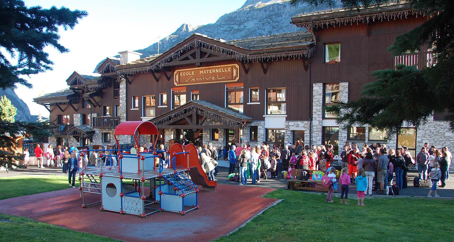 Rentrée scolaire à Val d'Isère