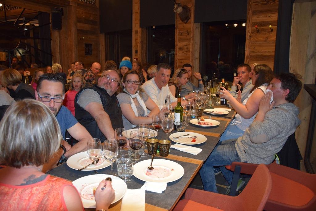 diner soirée val d'Isere
