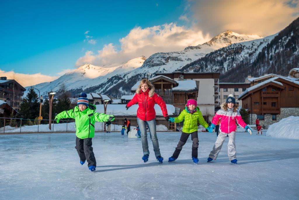 patinoire à Val d'isère