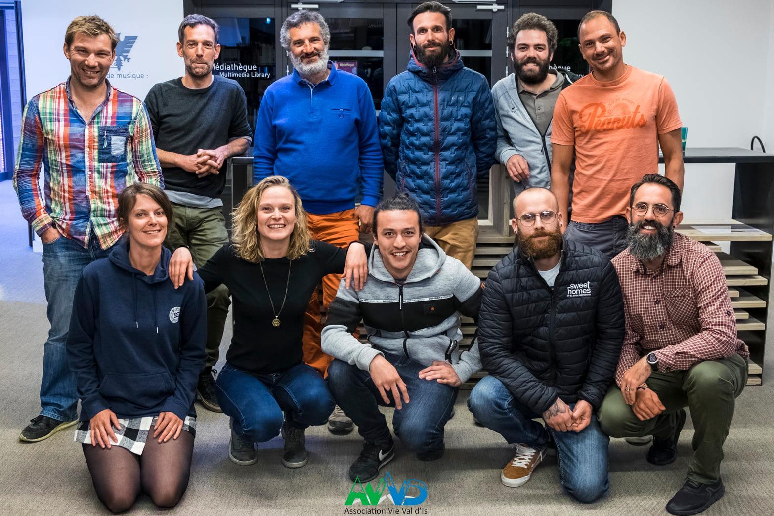 Membres du bureau Vie Val d'Is - septembre 2020